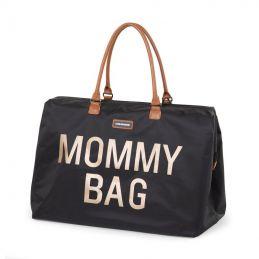 Mommy Bag large - noir/or