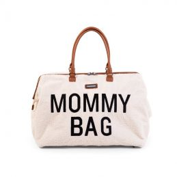 Mommy Bag large - Teddy écru