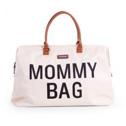 Mommy Bag large - écru/noir
